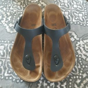 Gizeh Black 39 Birkenstock Sandals